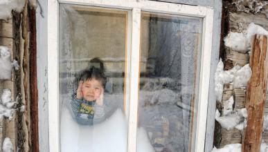Сибирските деца ходят на училище при -53 градуса по Целзий