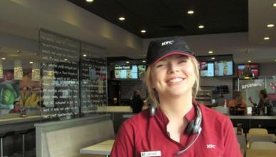 KFC служителката, която се превърна в еротична дива