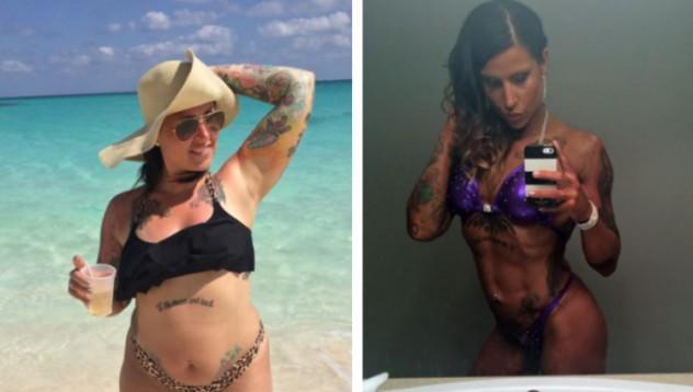 От наднормено тегло до професионален модел