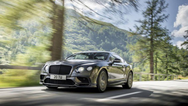Bentley Continental Supersport със 700 симпатии