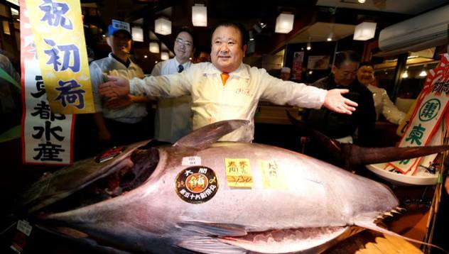 Риба за половин милион долара