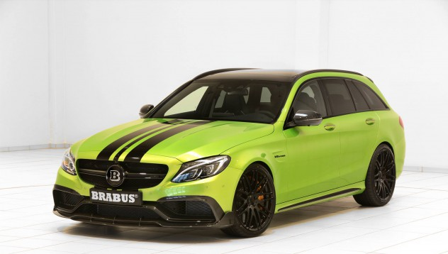 Brabus предлагат зелен автомобил