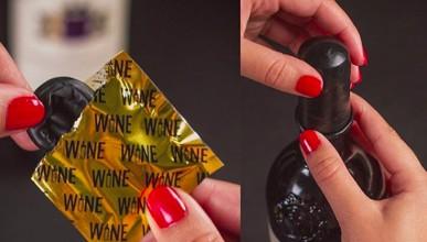 Презерватив с вкус на вино