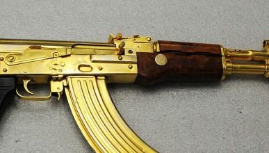 AK-47 от чисто злато