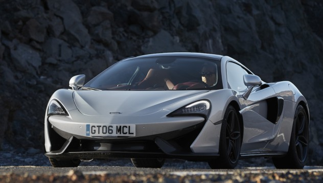 McLaren 570 GT постави рекорд