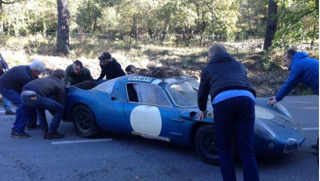 Alpine A210 отлежава повече от 40 години в гараж