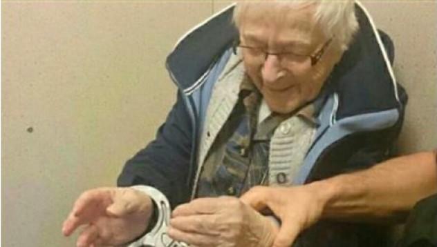 Старица поиска да влезе доброволно в затвора