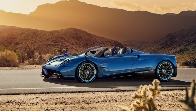 Pagani представя лека версия на Huayra Roadster