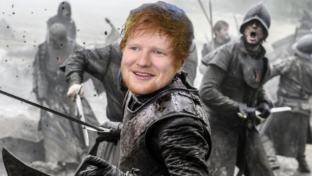 Ед Шийрън ще гостува в Game of Thrones