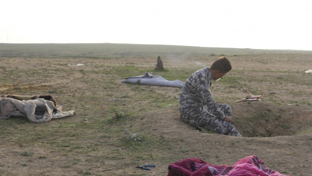 Първи детски масов гроб в Мосул
