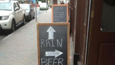 Петъчен дъждовен туитър с шансове за бира