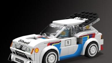 Peugeout 205 Turbo 16 Evolution от LEGO