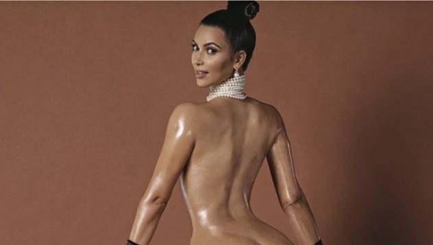 Ким Кардашиян с ботокс в дупето