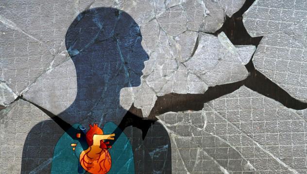 Разбитото сърце е ефект на мозъка