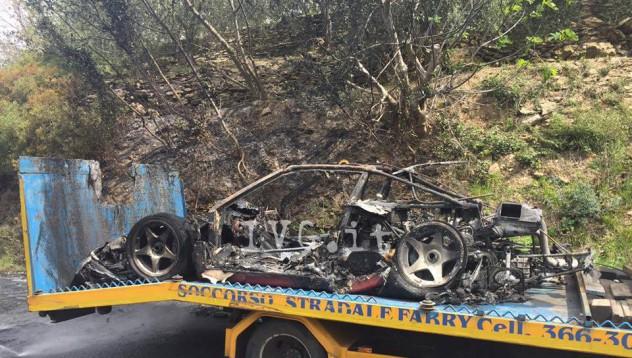 Собственик изгуби своето F40, докато взимаше LaFerrari