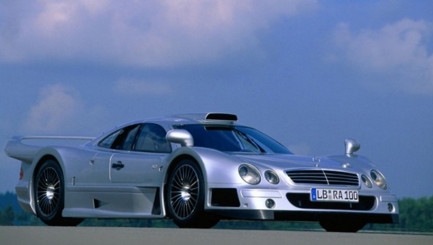 CLK GTR за 2.7 милиона долара