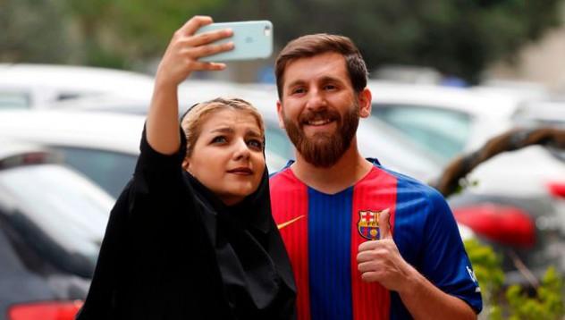 Меси има ирански двойник