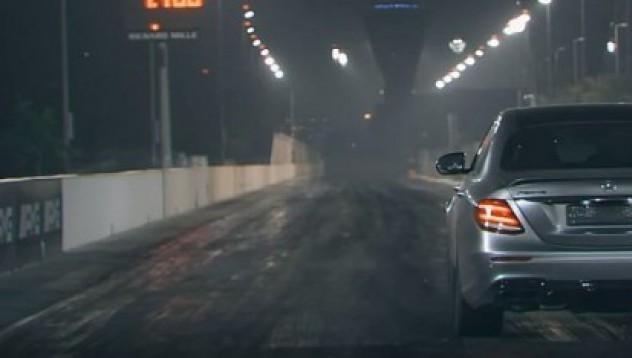 Mercedes-Benz AMG E63 с леки подобрения
