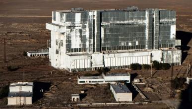 В изоставените космически хангари на Байконур