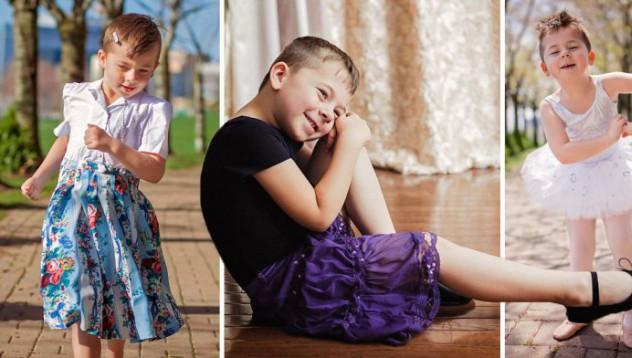 Детето, което само избира дрехите си