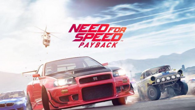 Need For Speed Payback ще дойде през ноември