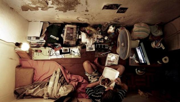 В Хонконг се дават най-малките квартири