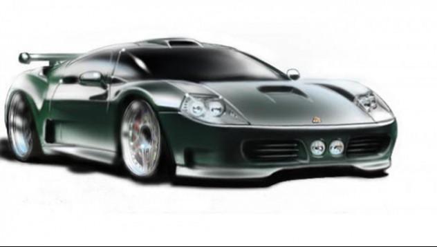 Един потенциален наследник на Ford GT