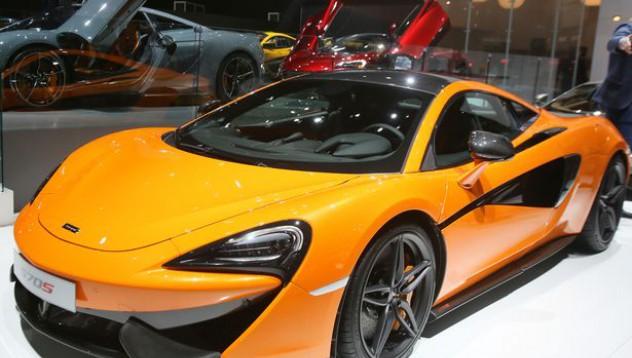 McLaren 570S е станал жертва на катастрофа