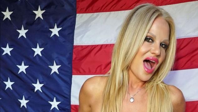 Кели Мадисън е патриотична