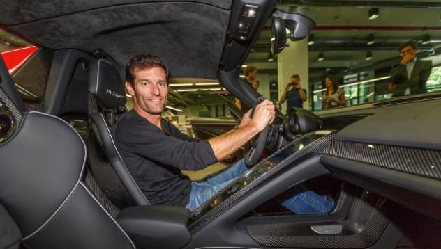 Марк Уебер ще разработва Porsche