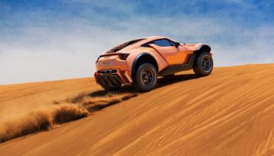 Дубайска суперкола лети по всяка повърхност