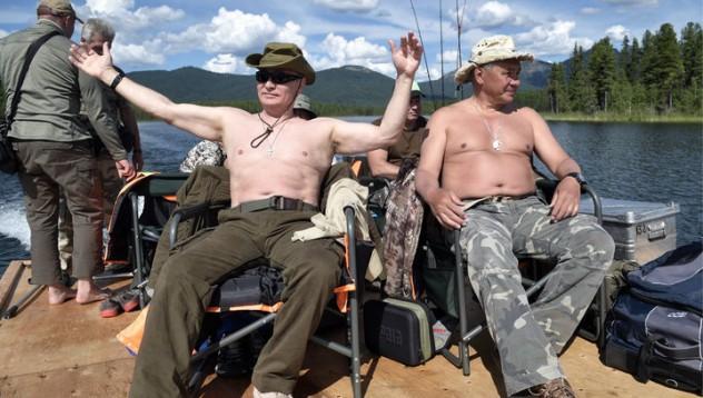 Ваканцията на Путин се превърна в творчески ден за гавраджии