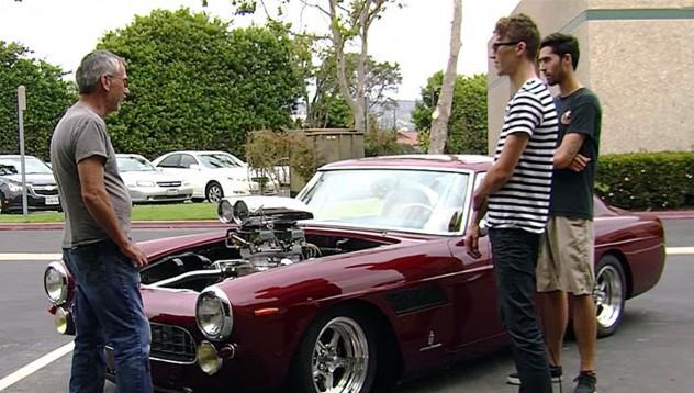 Ferrari с американски мускули