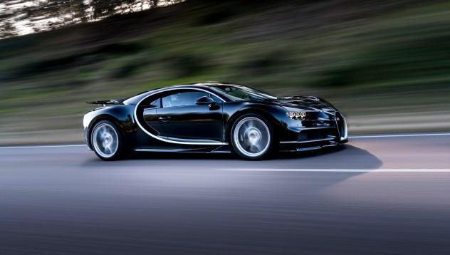 Каква е максималната безопасна скорост на Bugatti Chiron