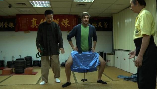 Германец измисли упражнение за пенис във фитнеса