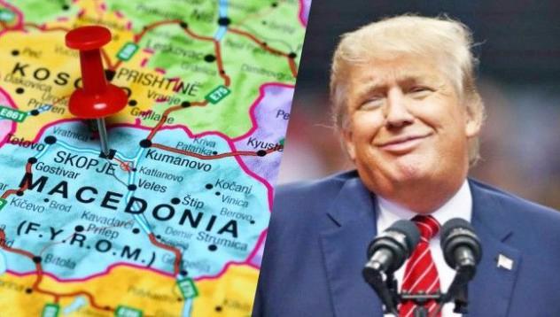 Доналд Тръмп: Искам да заема мястото на Александър Македонски в Скопие