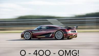 Koenigsegg One:1 е готов за 400 км/ч