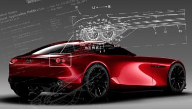 Mazda патентова нов активен спойлер