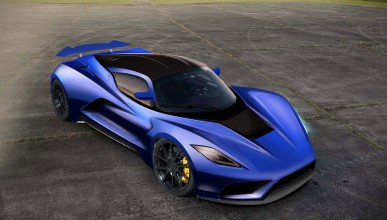 Hennessey Venom F5 ще хвърли ръкавицата на Bugatti Chiron
