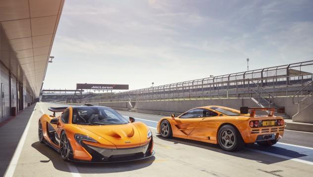 McLaren ще продават прототипа на бъдещия P1