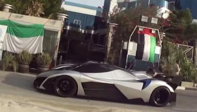 Дубайска фирма сглобява кола с 5000 конски сили
