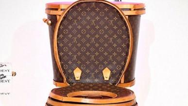 Louis Vuitton има и тоалетна чиния