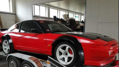 Nissan 200NX може да мърка в твоя гараж