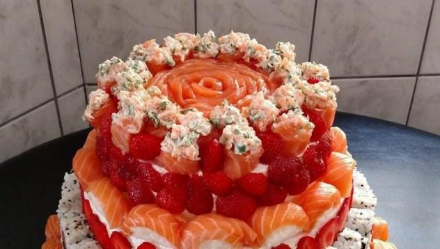 Суши торта прави света по-добър