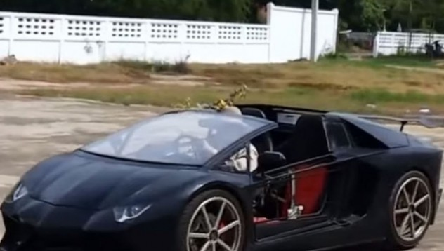 Да си построиш Aventador