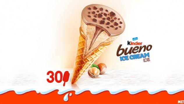 Kinder Bueno правят и сладоледи