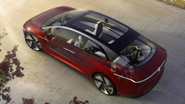 VW ID Vizzion е първият електромобил на VW