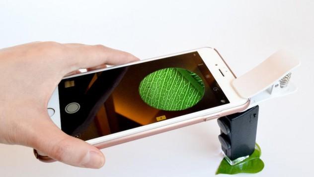 Микроскоп за мобилни телефони