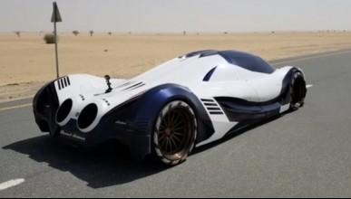 Devel разходиха своя V16 в пустинята