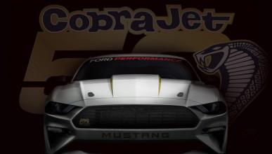 Mustang Cobra Jet демонстрира велика сила